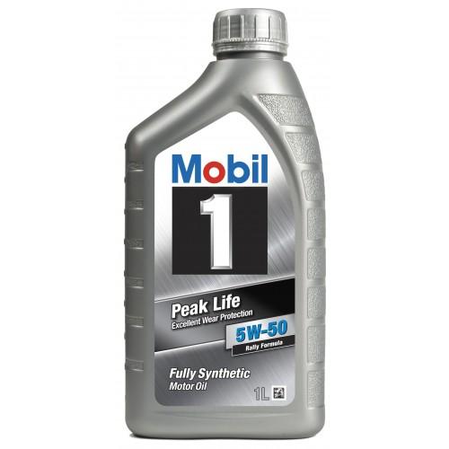 Mobil 1 Peak Life (Rally Formula) 5W-50 1L