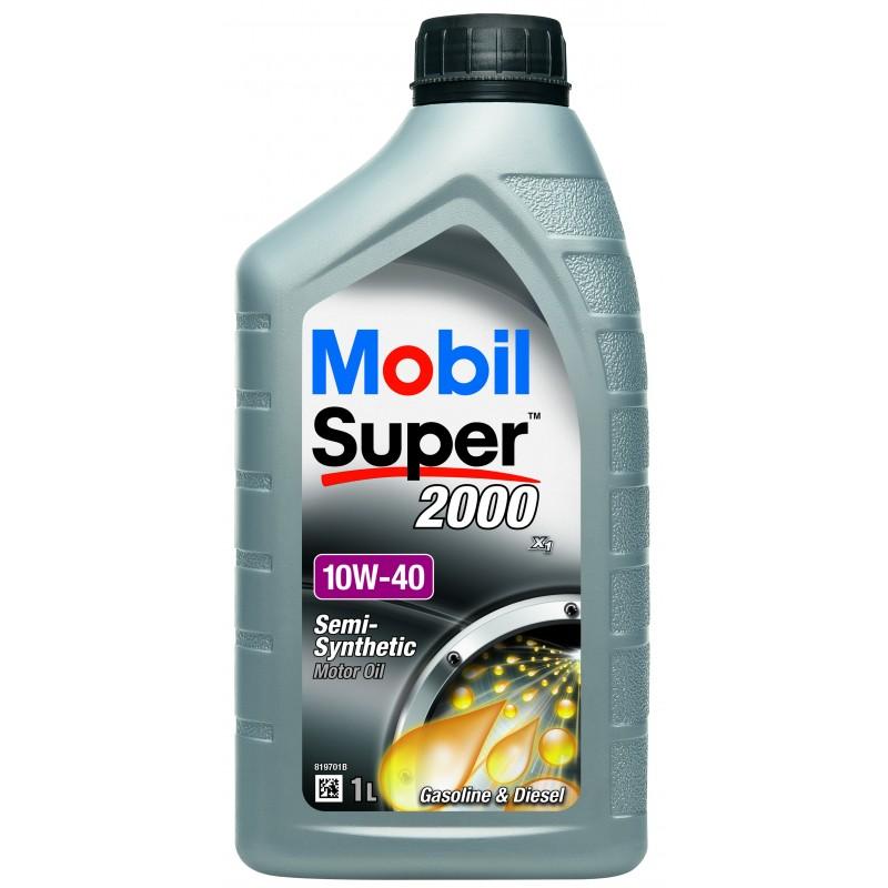 Mobil Super 2000 X1 (Super S) 10W-40 1L