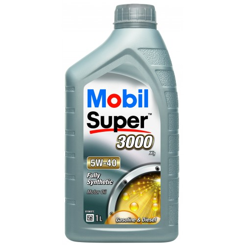 Mobil Super 3000 X1 (Synt S) 5W-40 1L