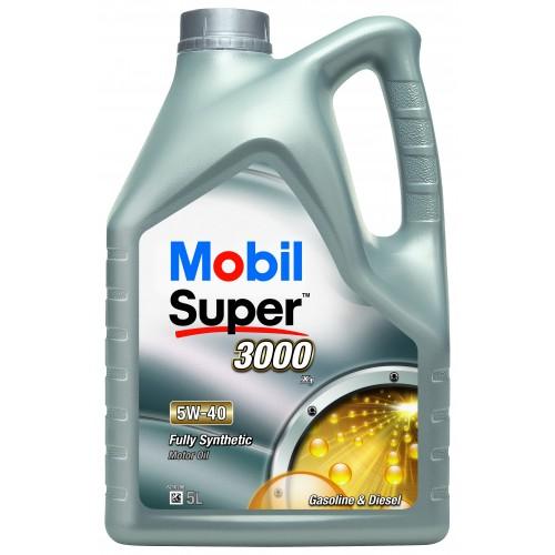 Mobil Super 3000 X1 (Synt S) 5W-40 5L