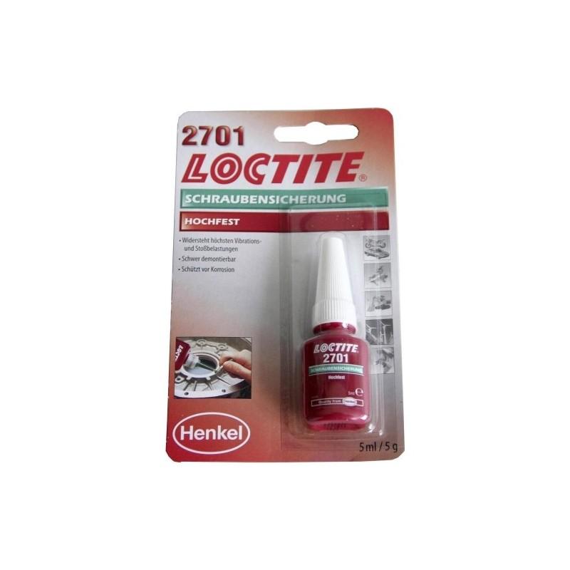 Loctite 2701 Tugev Keermeliim 5ml