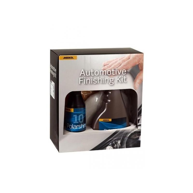 Mirka Polarshine® poleerimiskomplekt autodele