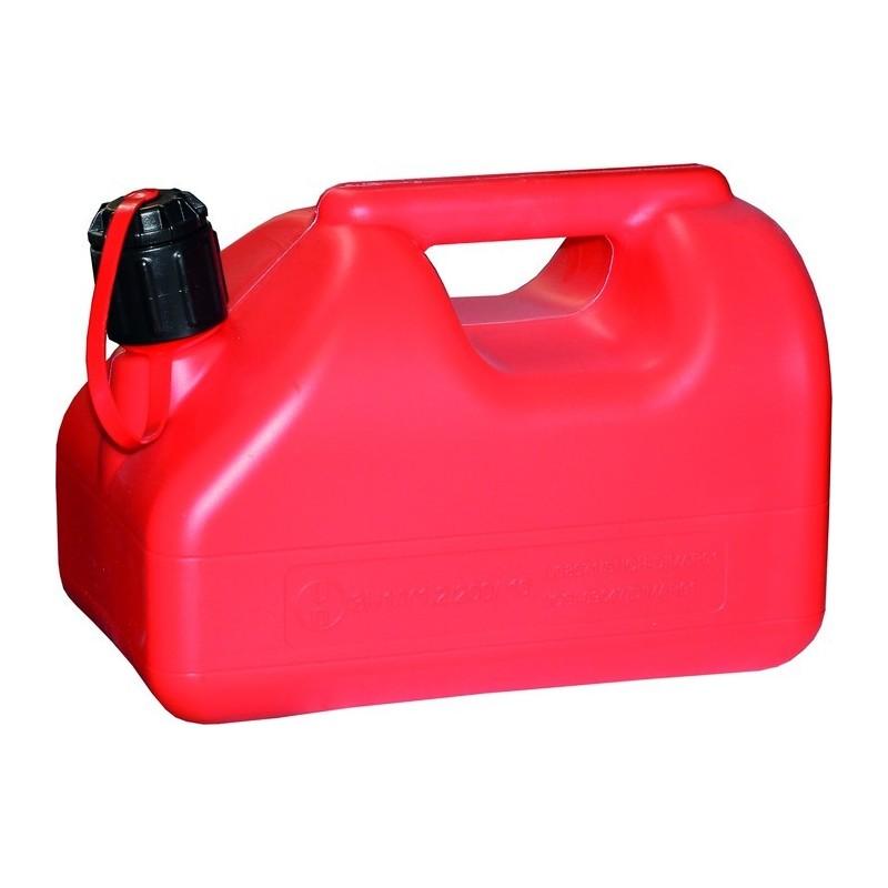 Kanister 5L punane madal