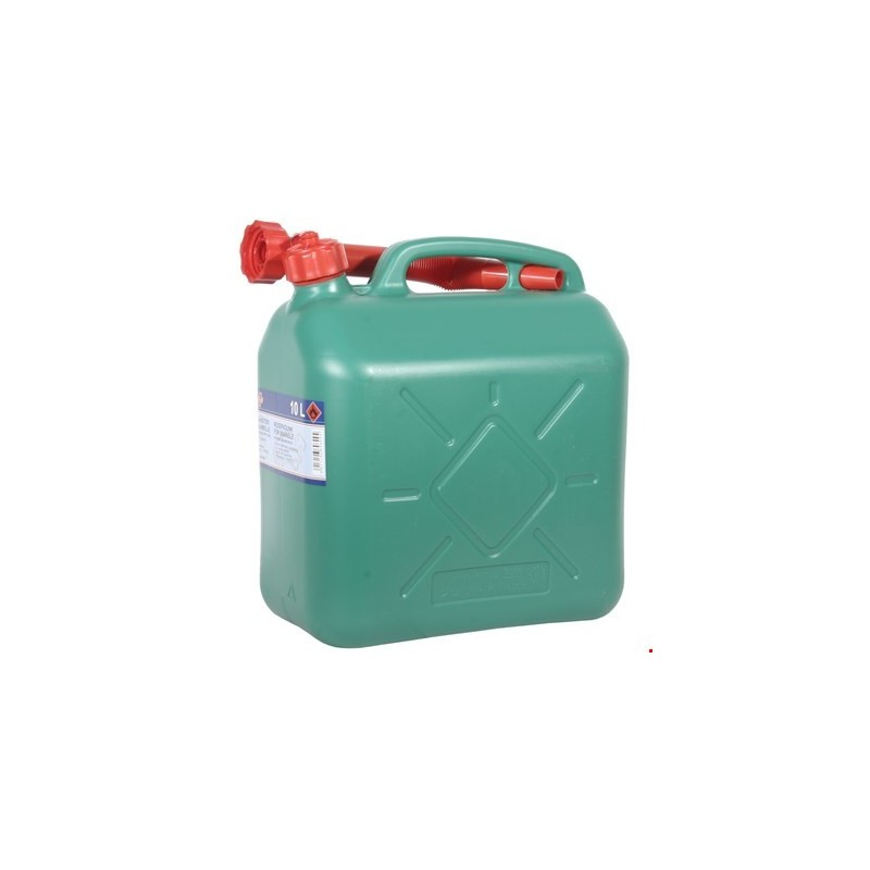 Kanister 10L roheline,plast