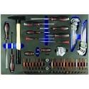 Triumf tööriistakäru tööriistadega 275-osa