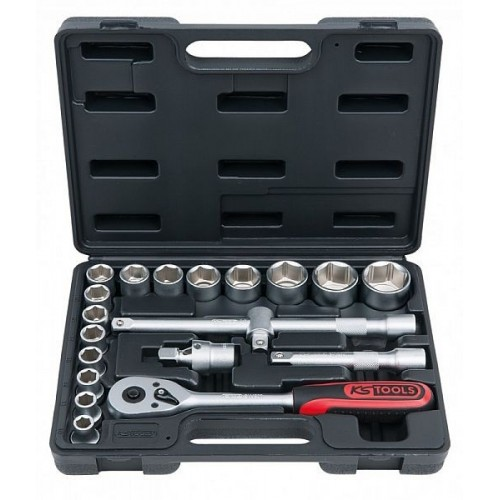 """KS-Tools 20-os tööriistakomp. padrunid 10-32mm 1/2"""""""