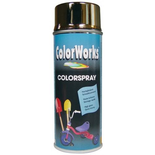 ColorWorks värv kuldkroom aero 400ml