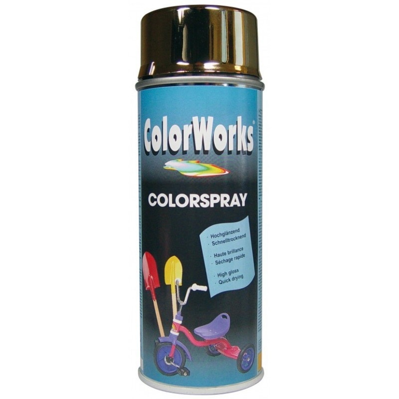 ColorWorks värv kuldkroom aero 400ml