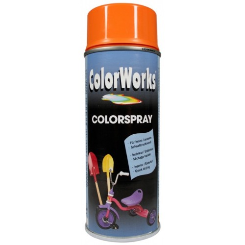 ColorWorks värv oranz aero. (918527) 400ml