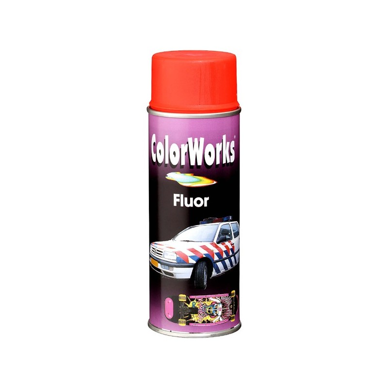 ColorWorks värv neoon aero. punane (918540) 400ml