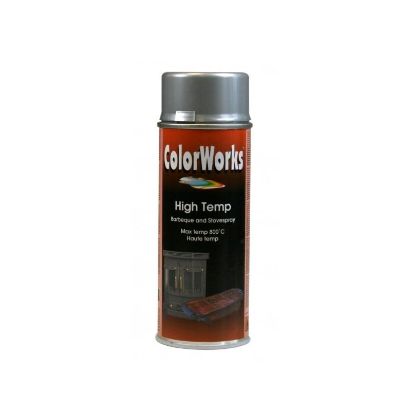 ColorWorks värv kuumakindelvärv hõbe aero. (918551) 400ml