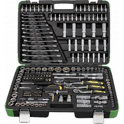"JBM tööriistakomp. 216-os pad 1/4""+3/8""+1/2"" +torx, chrome"
