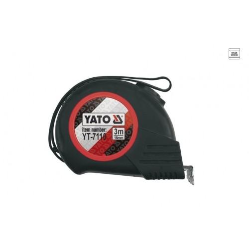 Mõõdulint YATO 3m 16mm (magnetiga)
