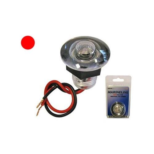 LED Valgusti veekindel punane 12V