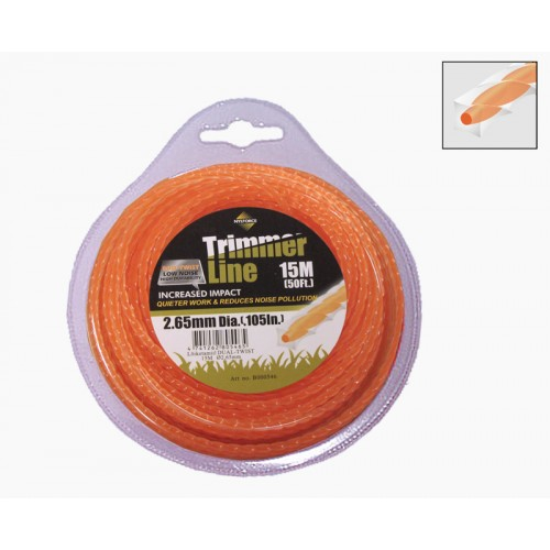 Trimmerijõhv 2,4mm/15m TL Dual Twist