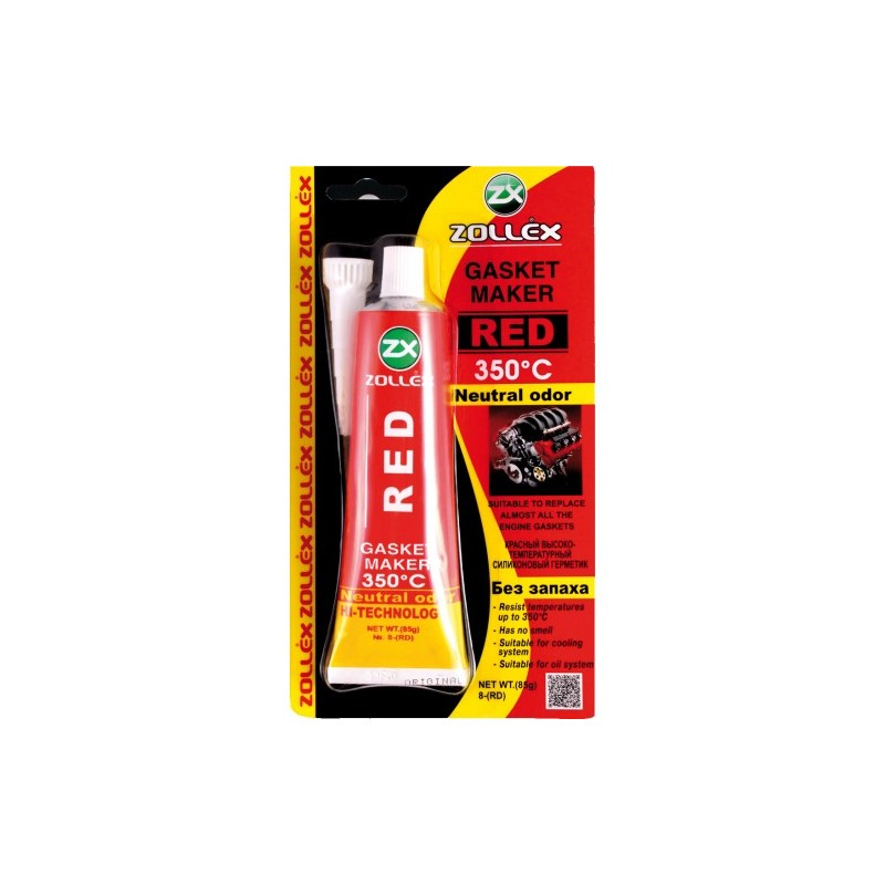 Zollex hermeetik/ punane 350`C 85g