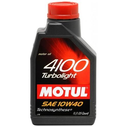 Motul 4100 Turbolight 10W-40 1L
