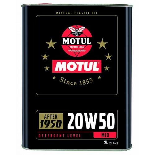 Motul Classic Motor Oil SAE 20W50 2L