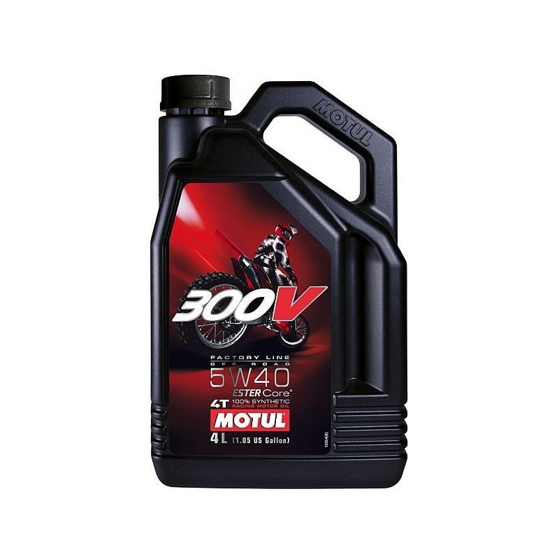Motul 300V Factory Line Offroad Racing 4T 5W40 4L